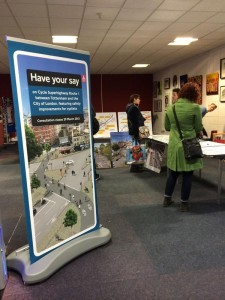 CS1 consultation event in Marcus Garvey library